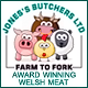 Our own quality Welsh meat delivered to your door!
